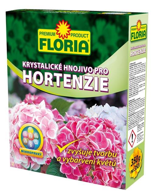 Kryštalické hnojivo na hortenzie