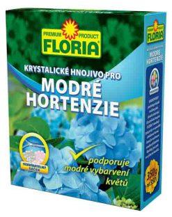Kryštalické hnojivo na modré hortenzie