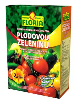 Organicko – minerálne hnojivo na plodovú zeleninu