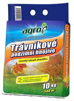 Jesenné hnojivo na trávnik