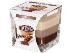 Sviečka sklo Dúha Coffee 170g