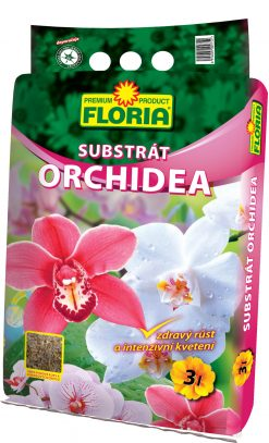 Floria kôrový substrát na orchidey 3l